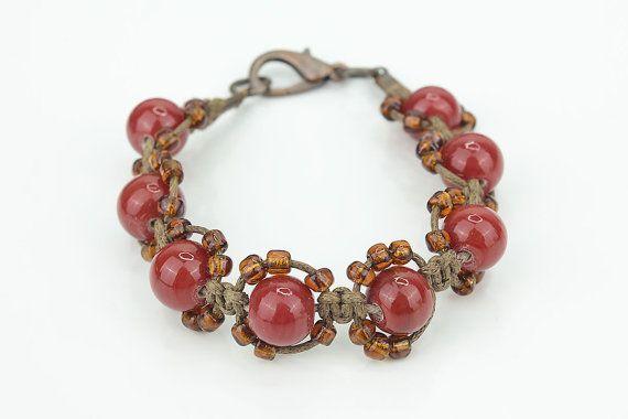 Bracelet chambala bracelet beaded bracelet by MoniceBoutique, €10.00