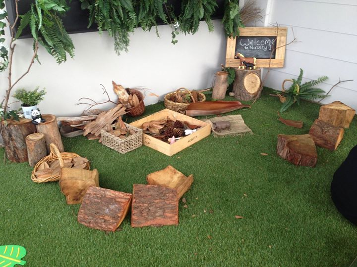 Creative Outdoor Play Area Inspired By Nature At Oac