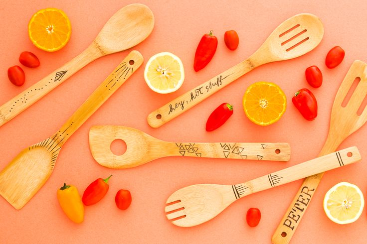 You'll Actually WANT to Burn These Cooking Utensils via Brit + Co