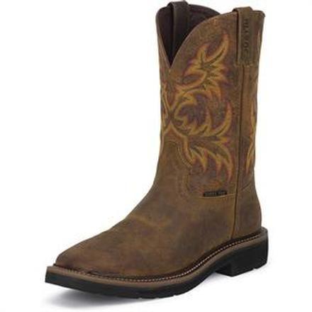 Justin Work Women's Stampede Steel Toe Western Work BootJustin Work Women's Stampede Steel Toe Western Work Boot,
