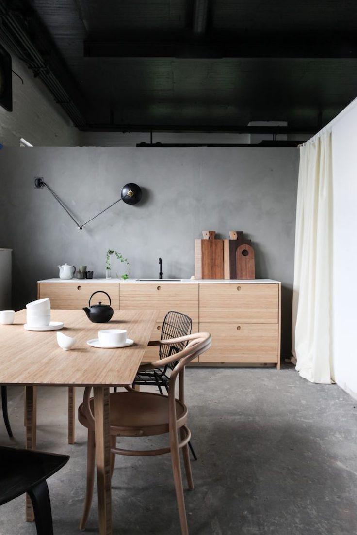 Workspace Inspiration A Norwegian Design Studio Scandinavian Kitchen Design Ikea Kitchen Design Loft Interior Design