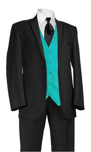 turquoise groomsmen attire 2