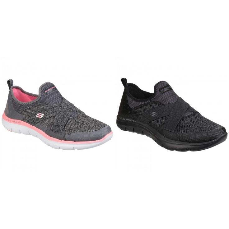 Skechers Womens/Ladies Flex Appeal 2.0  Image Slip On Trainers/Sneakers