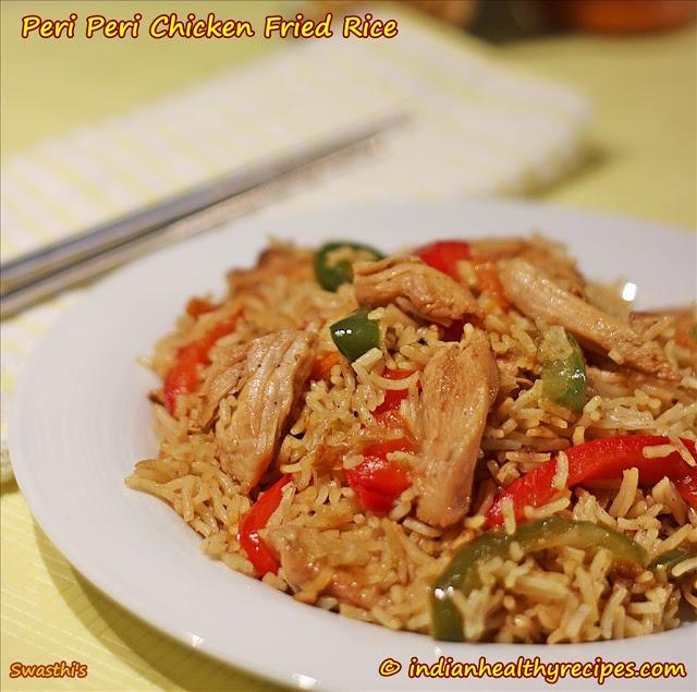 Peri Peri Chicken Fried Rice