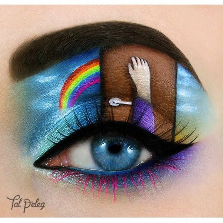 Preen.Me #makeup artist Tal P voices out her hope with this stunning work of art. Take a peek at the details of her masterpiece here.