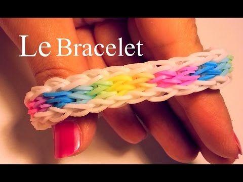 Comment faire un bracelet Rainbow Loom (élastiques) ?
