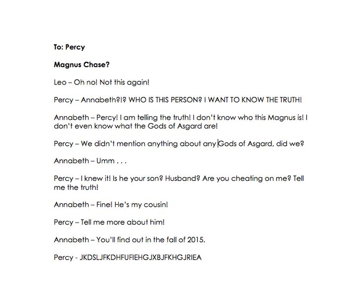 Ask the Seven. Magnus Chase? Only true fans of Percy Jackson will know what this means . . .