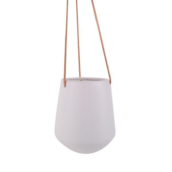 Paton Large Hanging Pot - White
