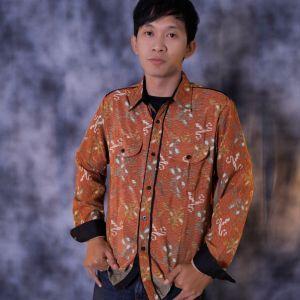 Kemeja batik semi formal keren dan berkualitas,harganya juga murah