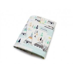 Olli + Lime - Teepee Crib Sheet
