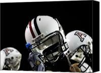 Arizona Football Helmets Photograph by University of Arizona - Arizona Football Helmets Fine Art Prints and Posters for Sale