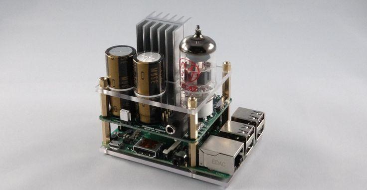 Mejora el sonido de tu Raspberry Pi con este tubo híbrido - http://www.hwlibre.com/mejora-sonido-raspberry-pi-este-tubo-hibrido/
