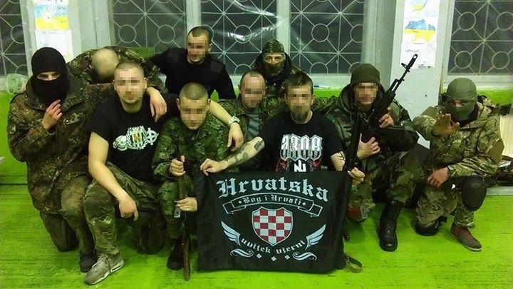 хорватские добровольцы на Донбассе воюют за Украину