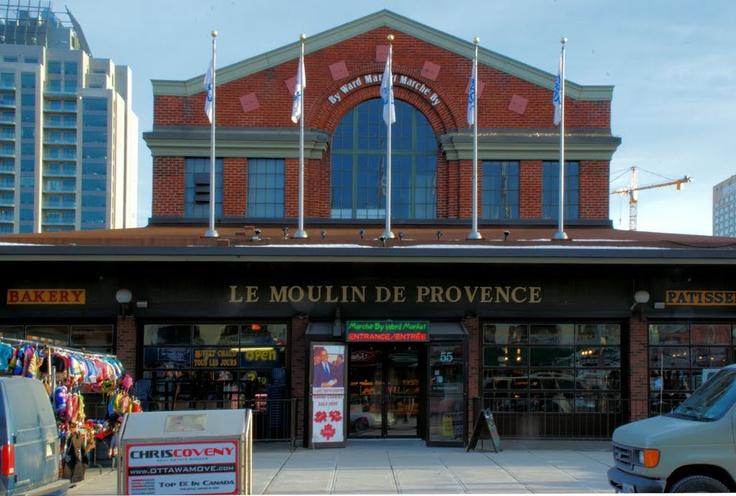 Moulin de Provence Restaurant & Bakery, Byward Market - Ottawa