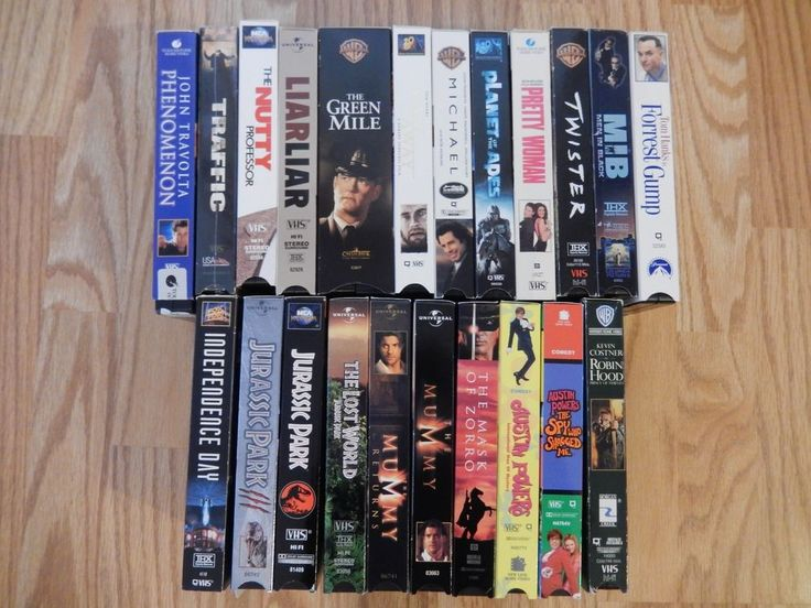 Collection of VHS Movies 22 Tapes  $25.97                                     3380
