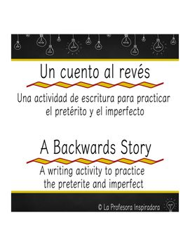 This activity uses creative writing to practice the preterite and the imperfect…