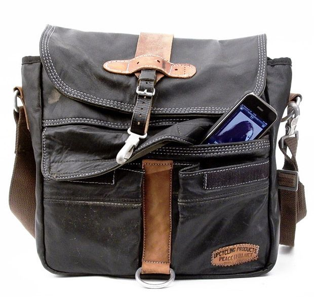 Upcycled Messenger Bags