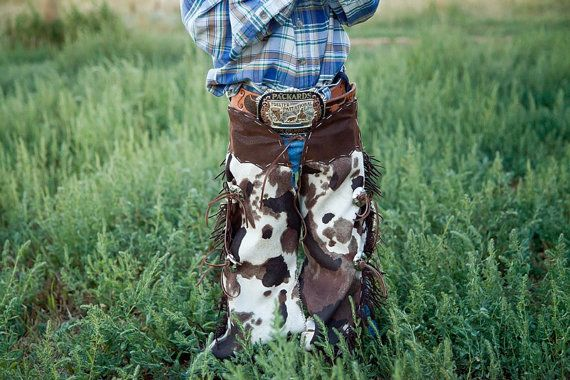 toddler chaps cowboy cowgirl costume  dress up play western wear infant clothing…