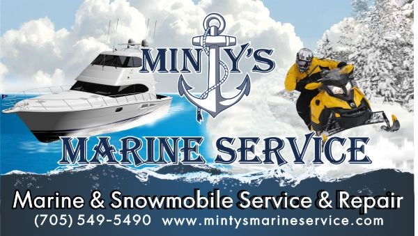 Bill Board-Minty's Marine