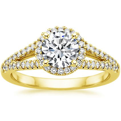 18K Yellow Gold Aurora Ring (1/3 ct. tw.) from Brilliant Earth