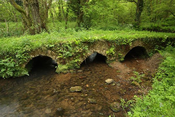 Triple Arch Bridge, Cheriton Valley, Gower