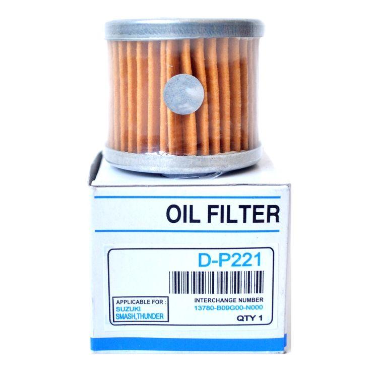 Ken Filter Oli DM213 Yamaha Vixion / Scorpio-Z / Jupiter-MX  Oli mesin berangsur angsur akan menjadi kotor bercampur dengan carbon, endapan lumpur, kotoran lainnya.  Filter Oli dibutuhkan untuk menyaring kotoran kotoran tersebut.  Sebaiknya ganti Filter Oli setiap 2 atau 3 kali ganti oli.