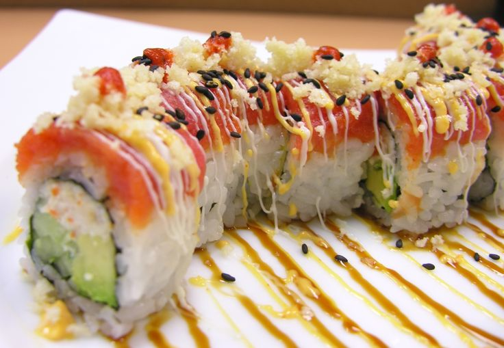 Crunchy Dragon Roll
