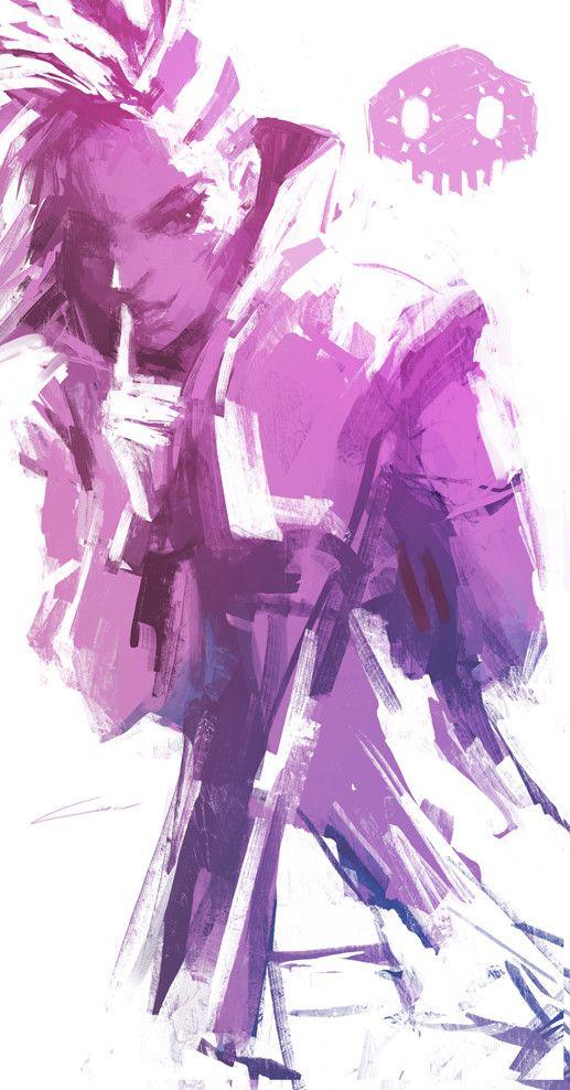 ArtStation - Sombra: Can you keep a Secret? (Overwatch), Alex Chow