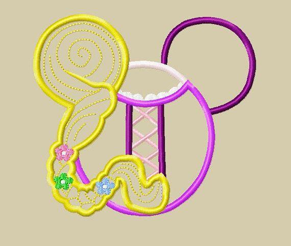 Rapunzel Embroidery Design Download