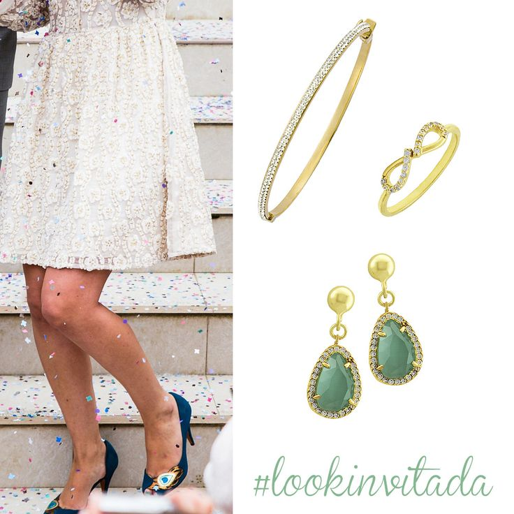 Look invitada verde