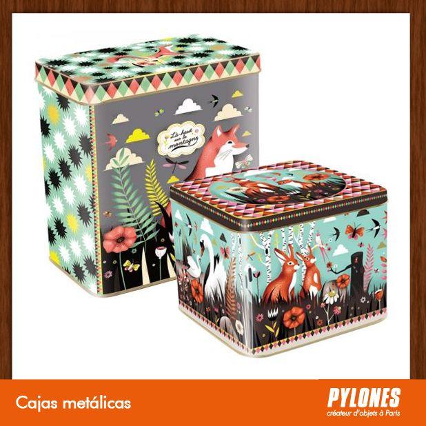 Cajas metálicas @pylonesco Pylones Colombia #navidad #regalos #pylones #novedades #new #gifts #christmas — en Colombia.