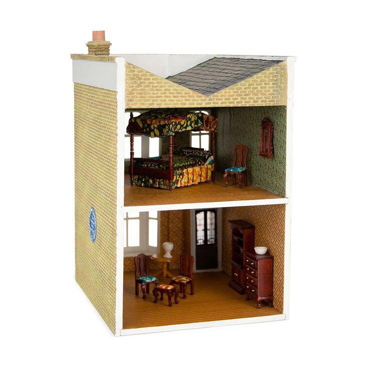 Bliss Dollhouse Wallpaper: Yinka Shonibare: Untitled (Dollhouse)