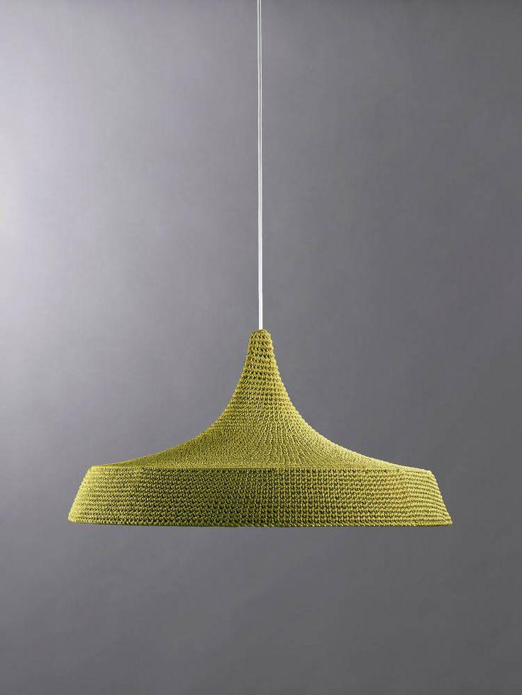 Story & Studio - Naomi Paul / crochet light pendants