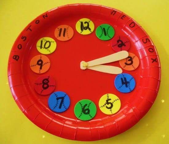 103 best Clock craft ideas images on Pinterest Clock craft