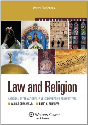 Law & Religion: National, International and Comparative Perspectives