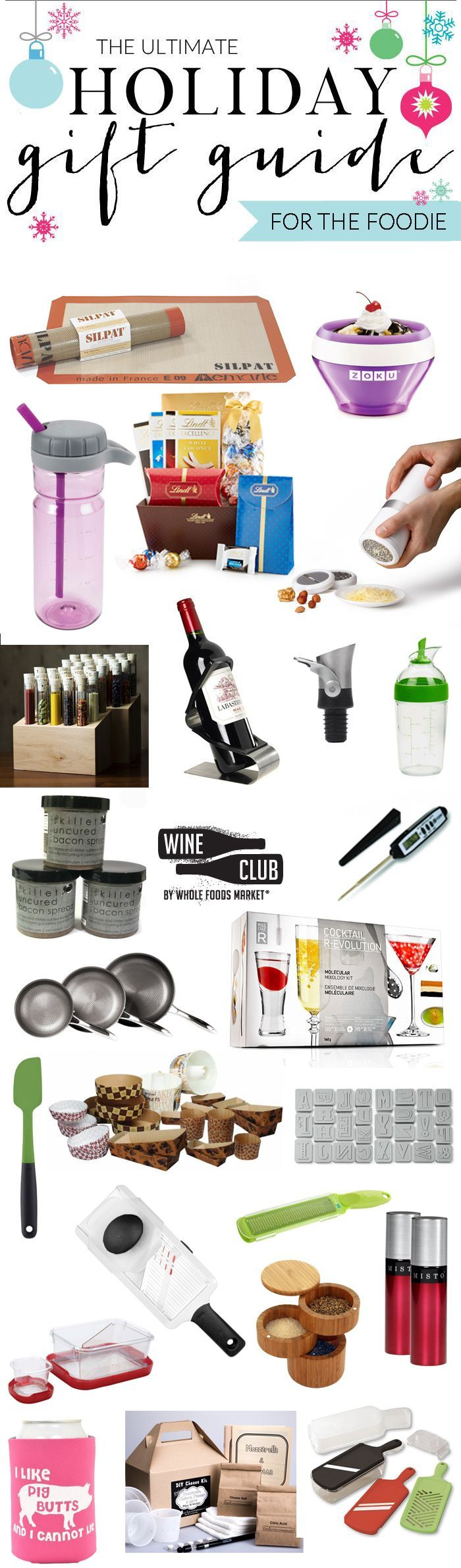 2014 Ultimate Holiday Gift Guide - 25 Gifts for Foodies