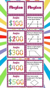 4th Grade End of the Year Review - This review is a great way to have FUN going beyond boring worksheets and engaging students in a 4th Grade Common Core Math Review. This set has 6 game show style reviews and all domains and standards are covered! WOW! $