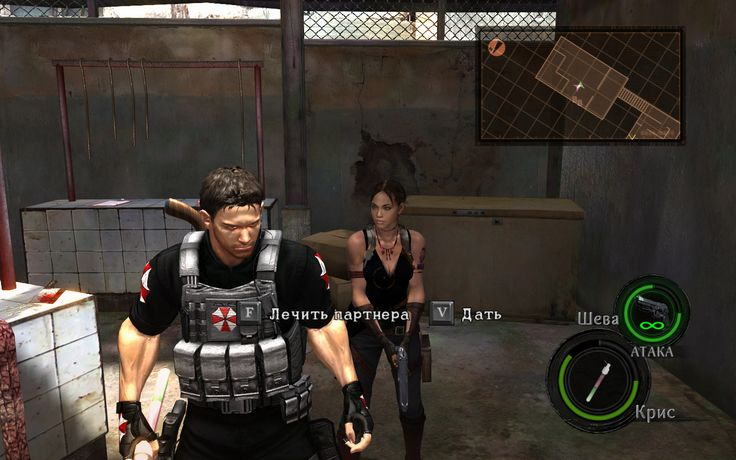 Umbrella Characters Pack / Screen 006 / Mods for Resident Evil 5(RE5) / Characters - Chris BSAA and Sheva BSAA