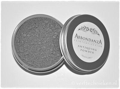 Abbondanza Antiquing Powder Dusty Grey