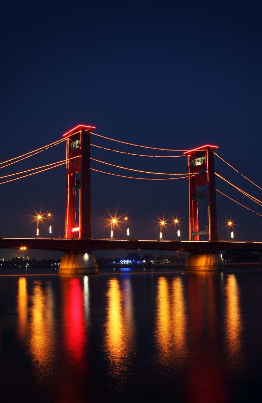 Palembang with The Royal Colors Red and Gold.