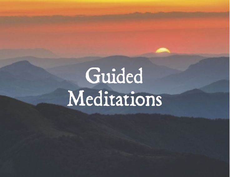 Nine Scripts for Guided Meditation