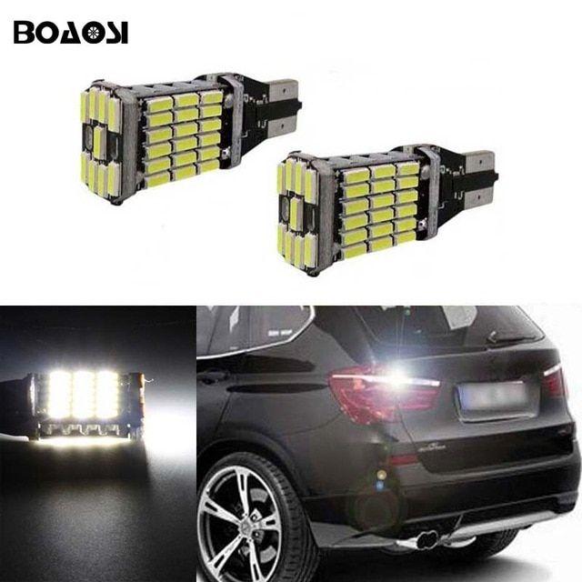 Boaosi 2x Canbus T15 Led Reverse Lights W16w 4014smd Car Led Back