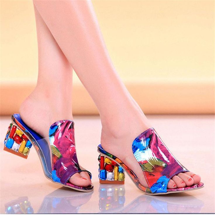 new Women Summer high Heels Sandals size 678