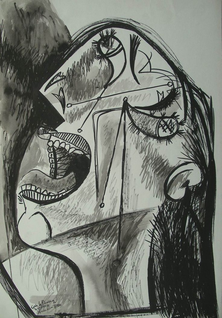 how to draw like pablo picasso
