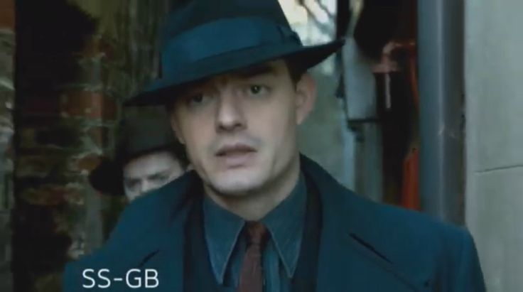 Sam Riley as Douglas Archer in new mini series BBC SS-GB