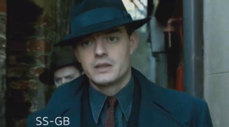Sam Riley as Douglas Archer in new mini series BBC SS-GB