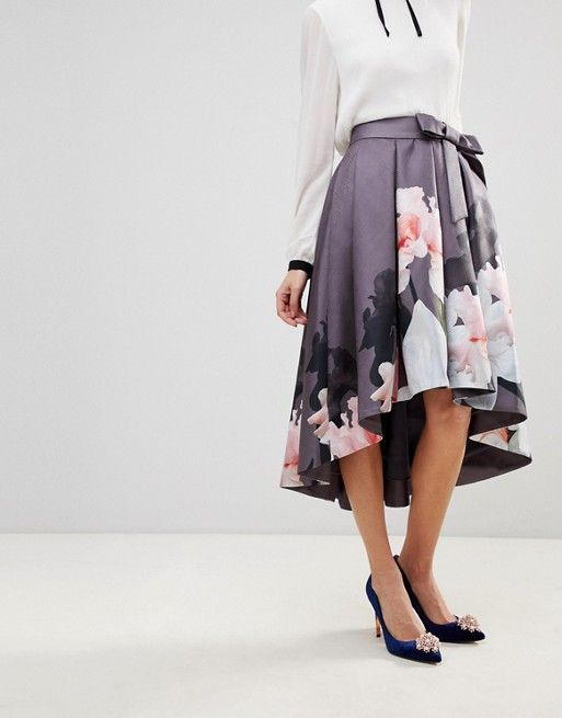 c95f7a36a Ted Baker Thali Full Skirt in Chatsworth Bloom | Ted Baker
