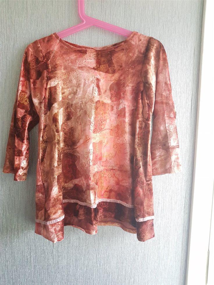 Annons på Tradera: Handsydd klänning/tunika från 2-4 år.Fint skick.Fri frakt.