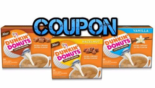 Dunkin' Donuts Coffee Creamer Singles Coupon March 2016 - http://couponsdowork.com/coupon-deals/dunkin-donuts-coffee-creamer-coupon-march2016/