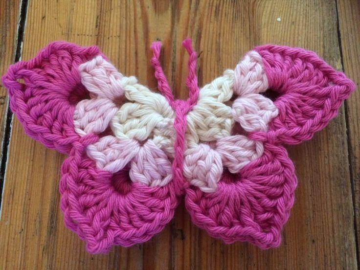 Butterfly Crochet Pattern | Crochet butterfly pattern, Crochet ...